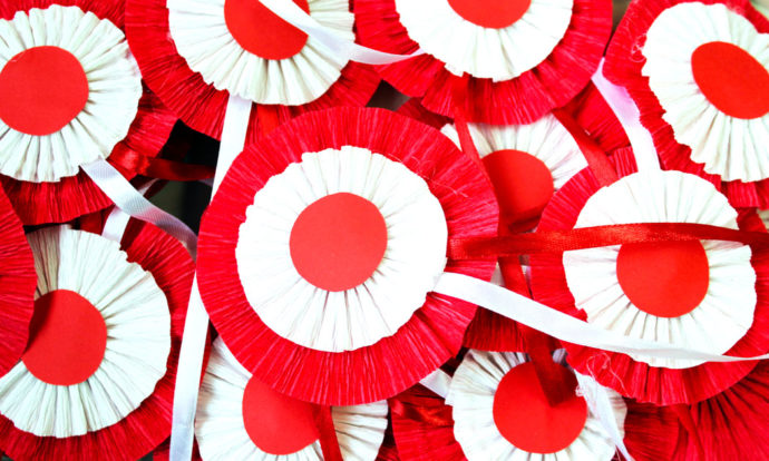Święto Niepodległości w Przedszkolu w Czarnej
