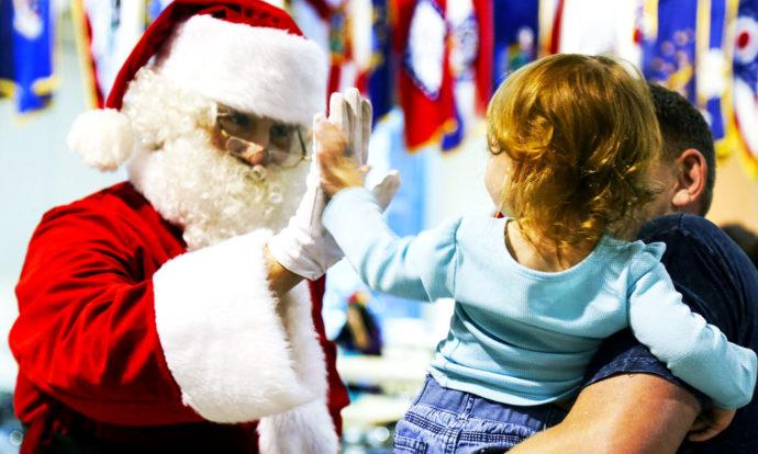 Spotkanie ze Świetym Mikołajem w Przedszkolu w Czarnej